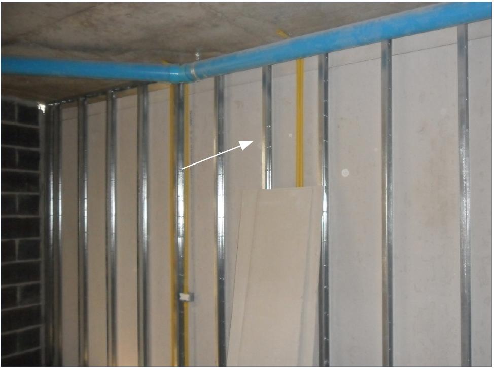 Installation of GI Frame