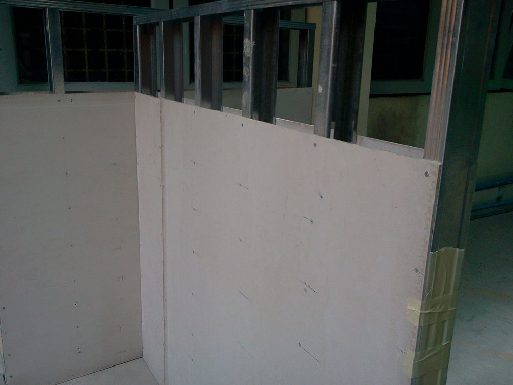 Installation of cement board