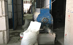 Lightherm is ready at the site to be mixed into the Lightherm Machine (Mixer)