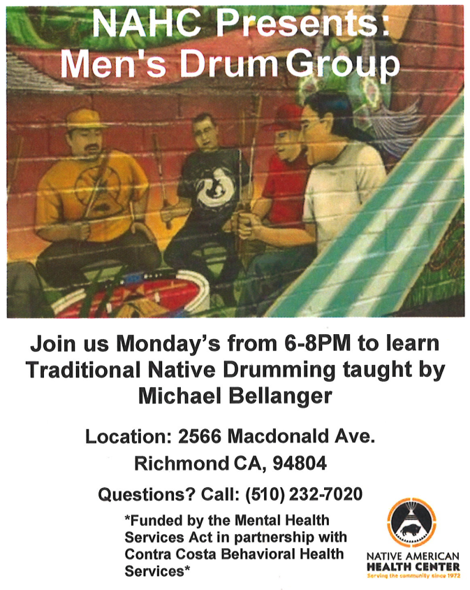 Men S Drum Group Nahc Richmond Ca Scotts Valley Tribal Tanf