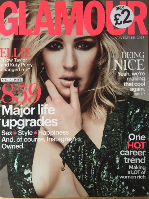 The HiLine Ring featured in November Glamour UK