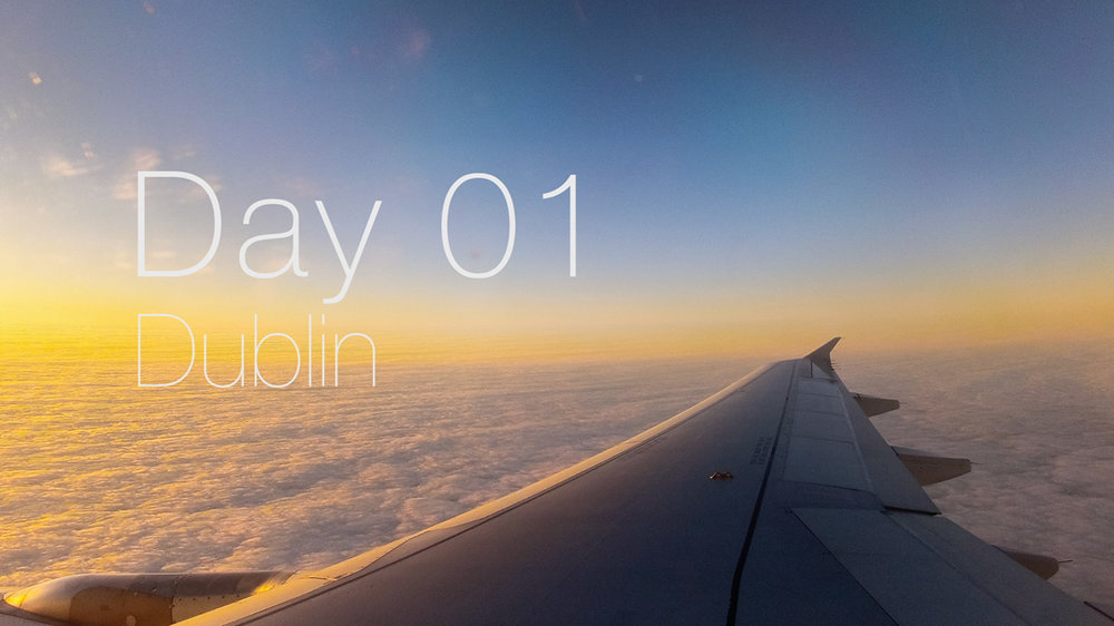 Plane window timelapse when flying to Dublin.  GoPro 2 attached via a Gecko Suction Cup