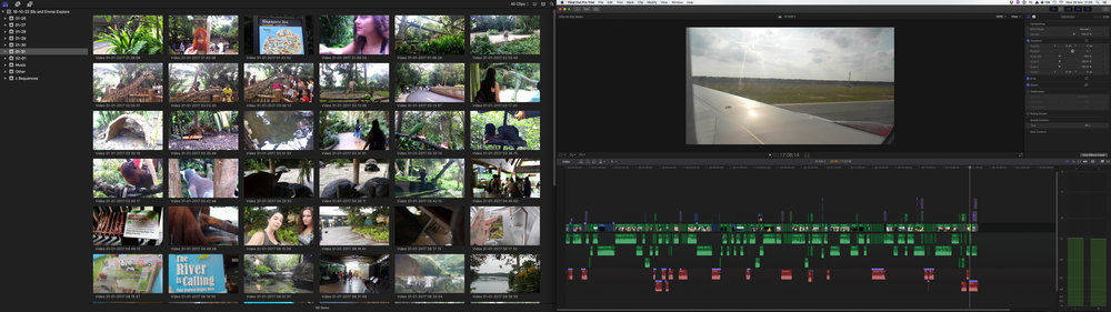 My FCPX Layout