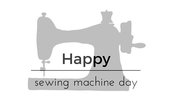 Happy Sewing Machine Day J M INTERIORS And DESIGN Impressive Sewing Machine Day