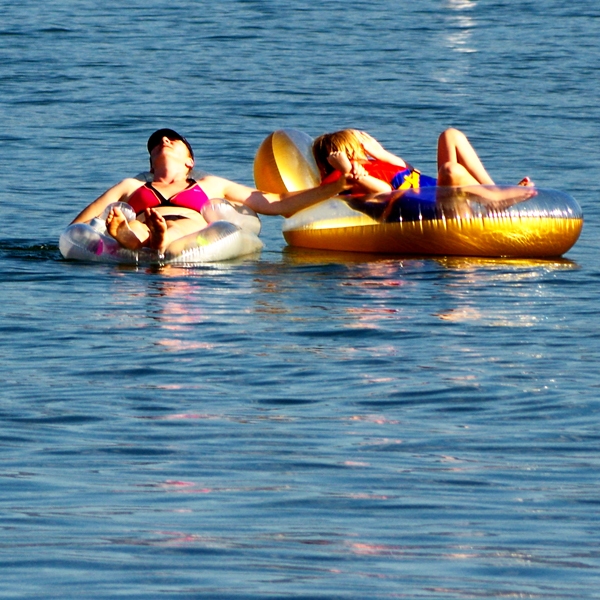 Leah and Ella - Chilaxin' by Penticton