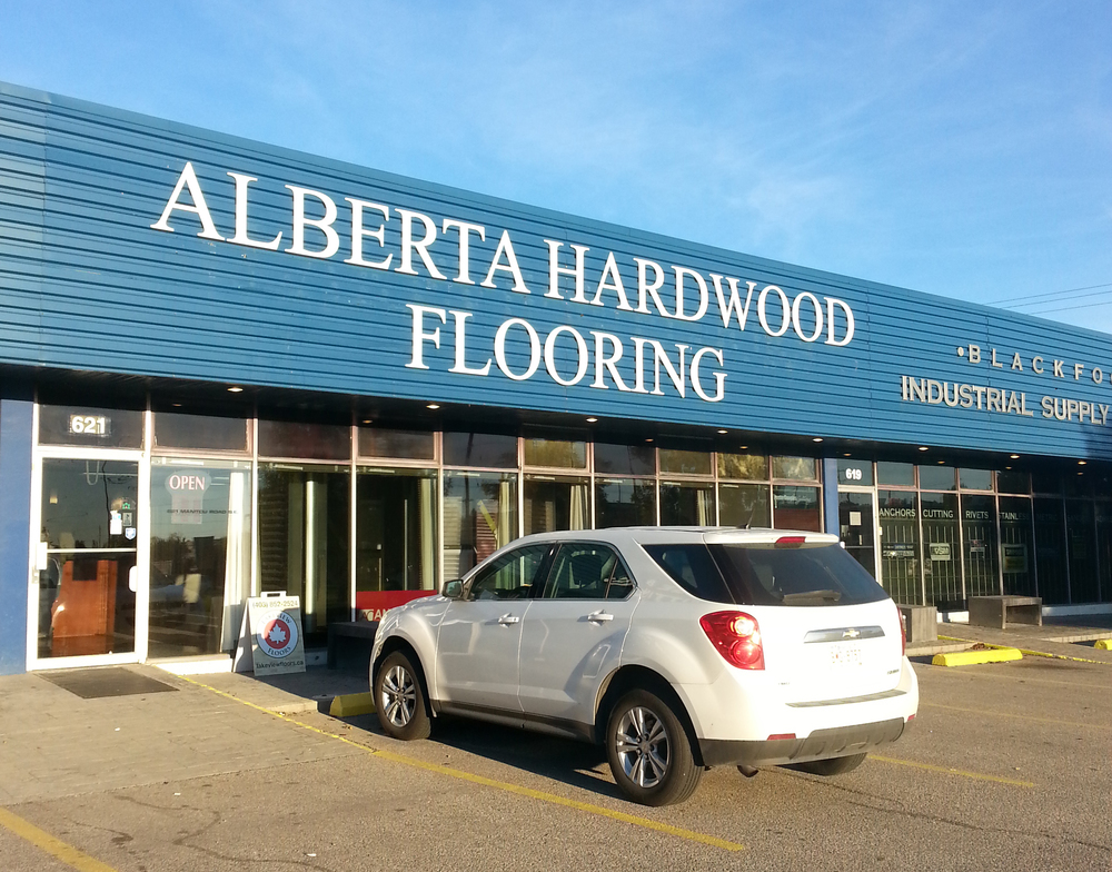 Alberta Hardwood Flooring is located in the same location as was Lakeview Floors, with a second Calgary location at  2454–91 Ave SE Quarry Station Business Centre. Our new phone number at Manitou Road is 403-692-6651.
