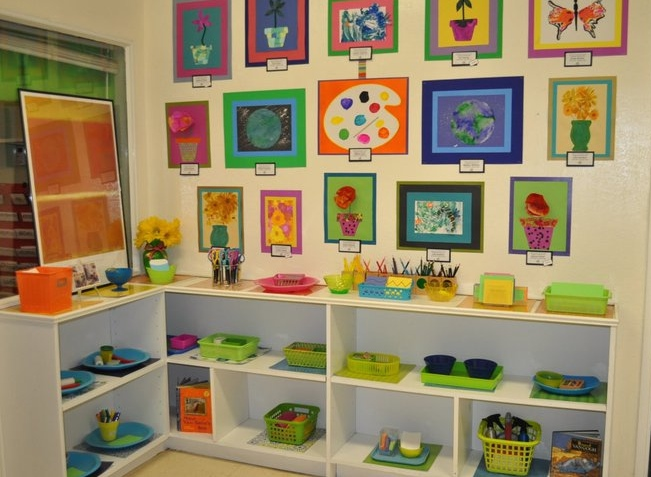 The Art room during our annual Art Gallery Fundraiser