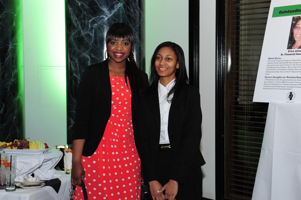 Scholarship Awardee & Guest.JPG