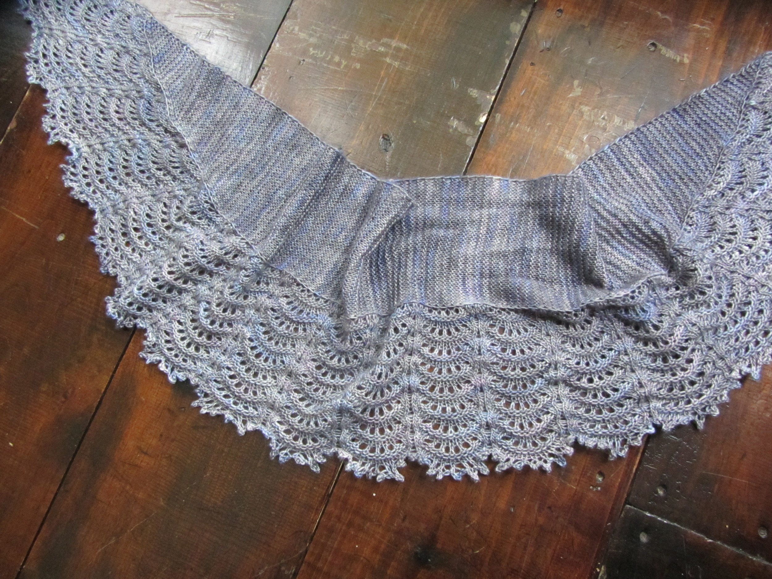 Mooncrest Shawl