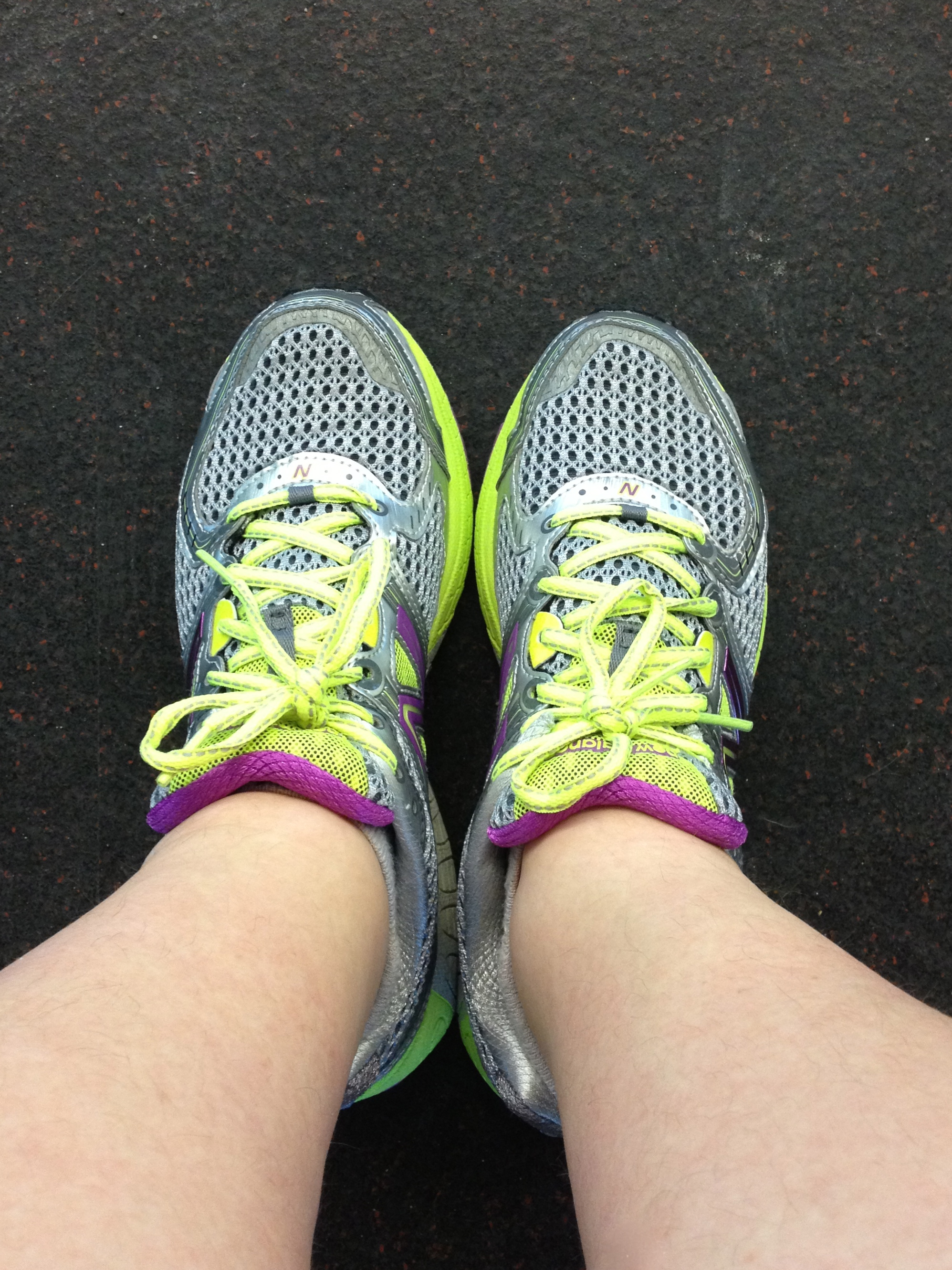Fancy shoes make you go faster, right?