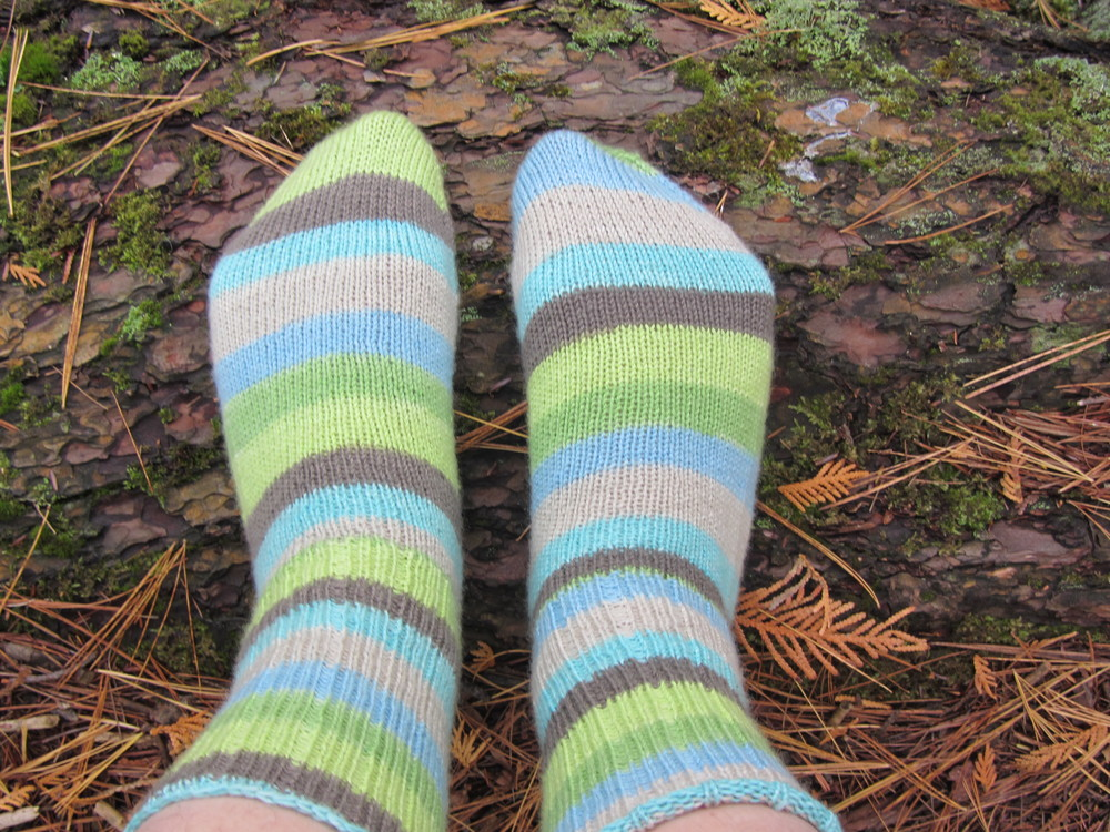 Tower Hill Birthday Socks   (Ravelry)