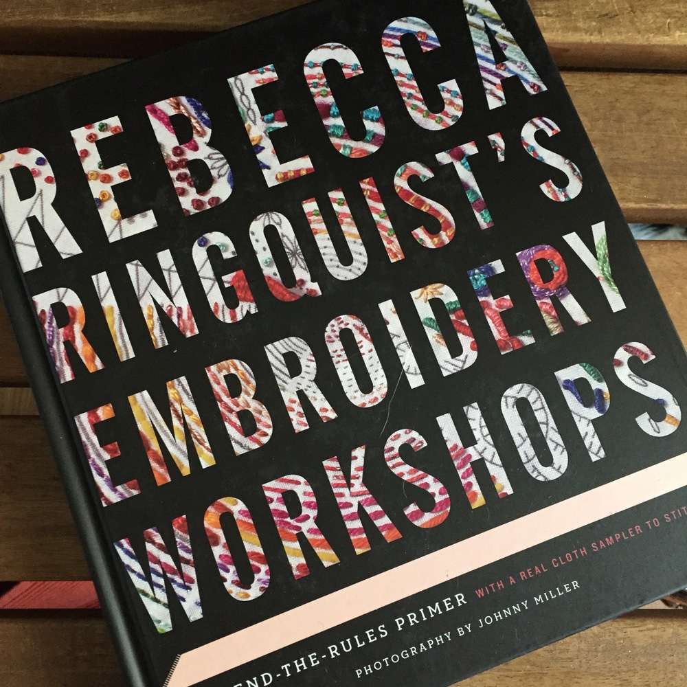 Thursday Things: Rebecca Ringquist's Embroidery Workshop