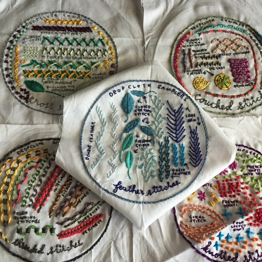 Lone/Maple Studio's Thursday Things: Rebecca Ringquist's Embroidery Workshops
