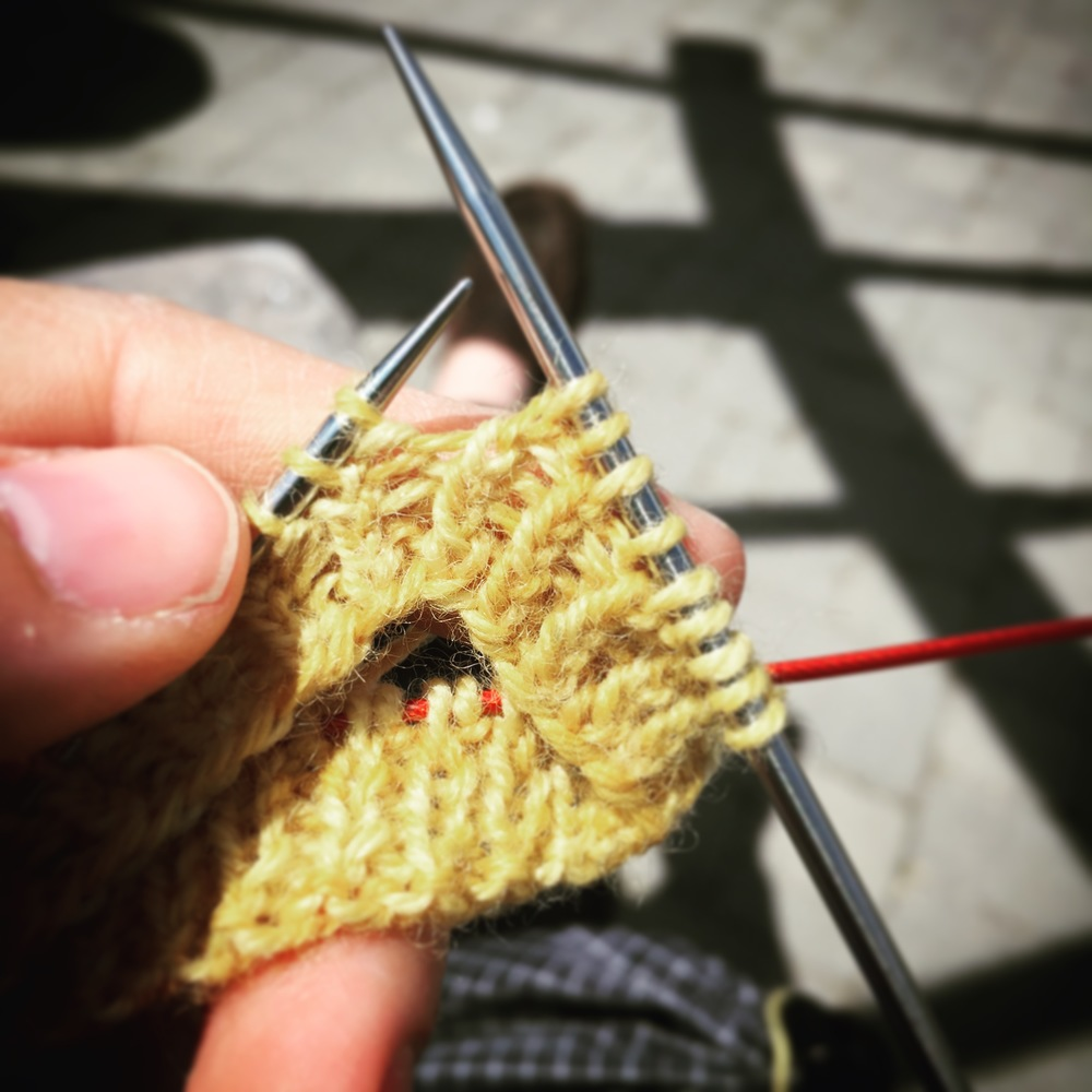 And sit in the sun, knit and listen to podcasts, I did!