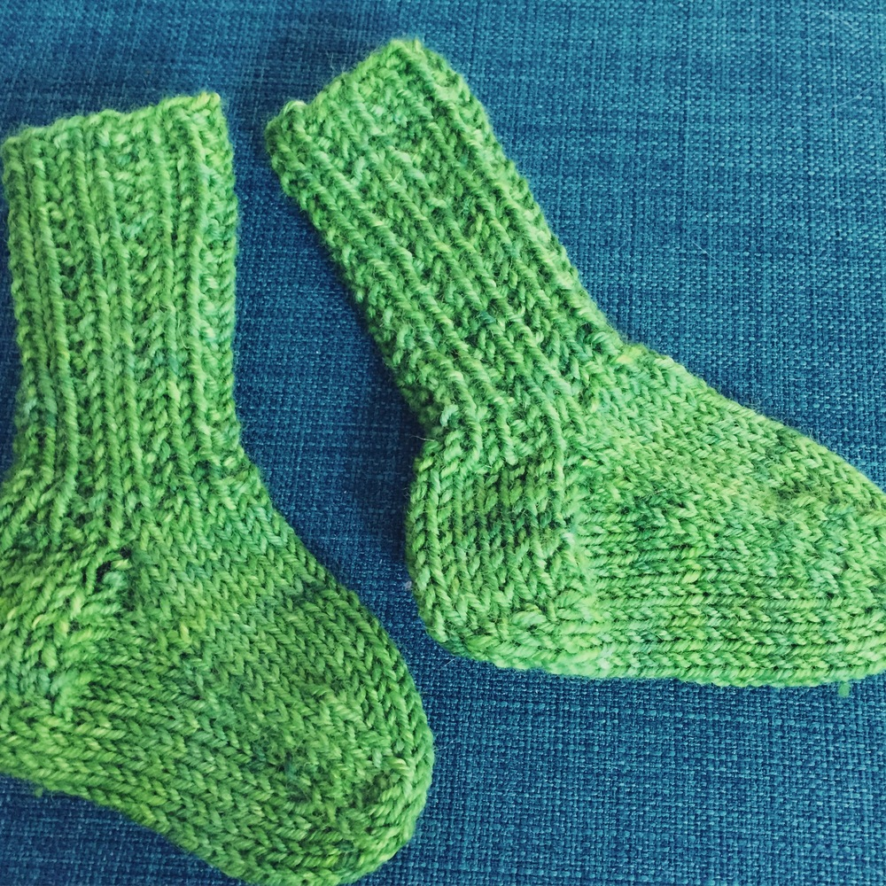Little Squirrel Socks  by tincanknits - from their new Max & Bodhi's Wardrobe Collection.