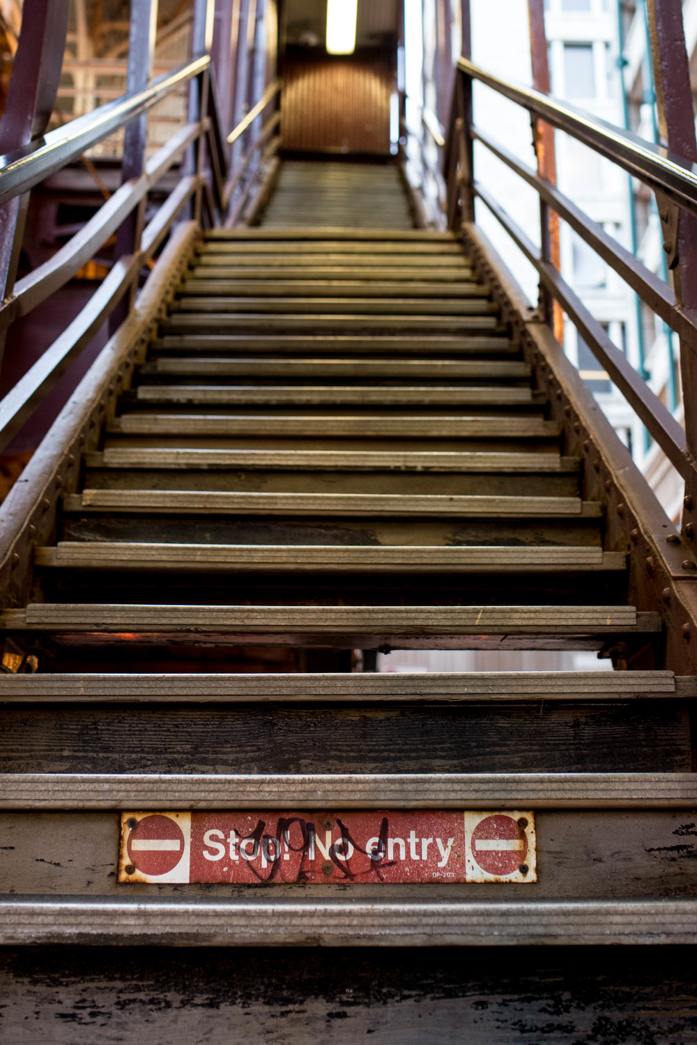 Stop! No entry. Yeah, right. Not anymore. Not for those who choose to #ClimbYourOwnLadder.