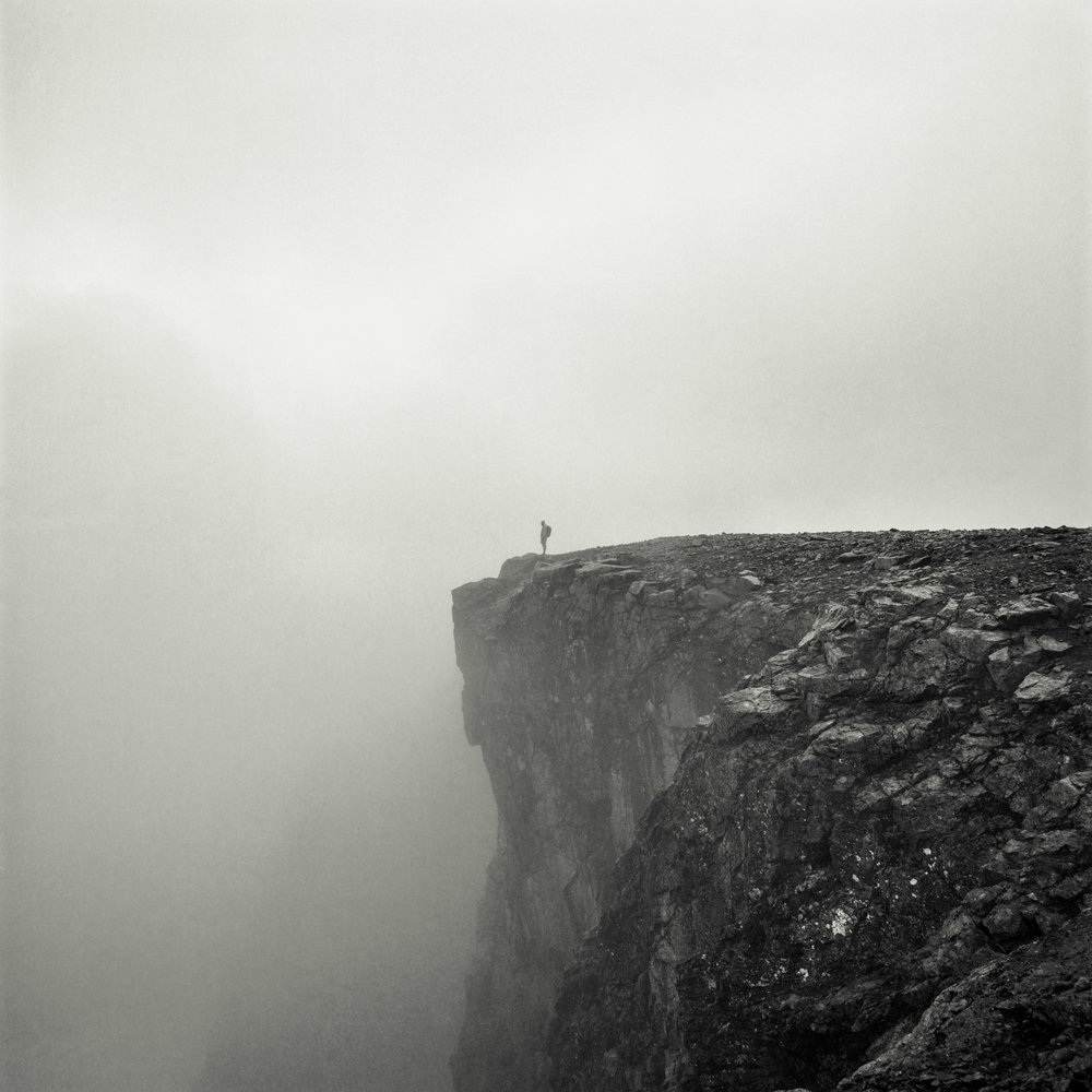 Edge of the Earth // Jotunheimen, Norway // 120mm B&W Film // 2014