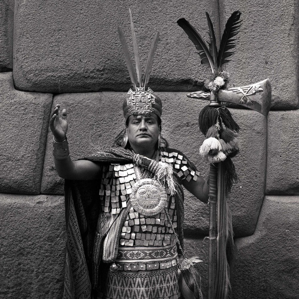 Manco Cápac // Cusco, Peru // 120mm B&W Film // 2014
