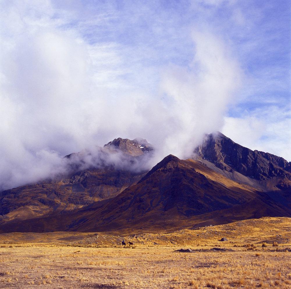Gauchos // Cordillera de los Andes, Peru // 120mm Film // 2013