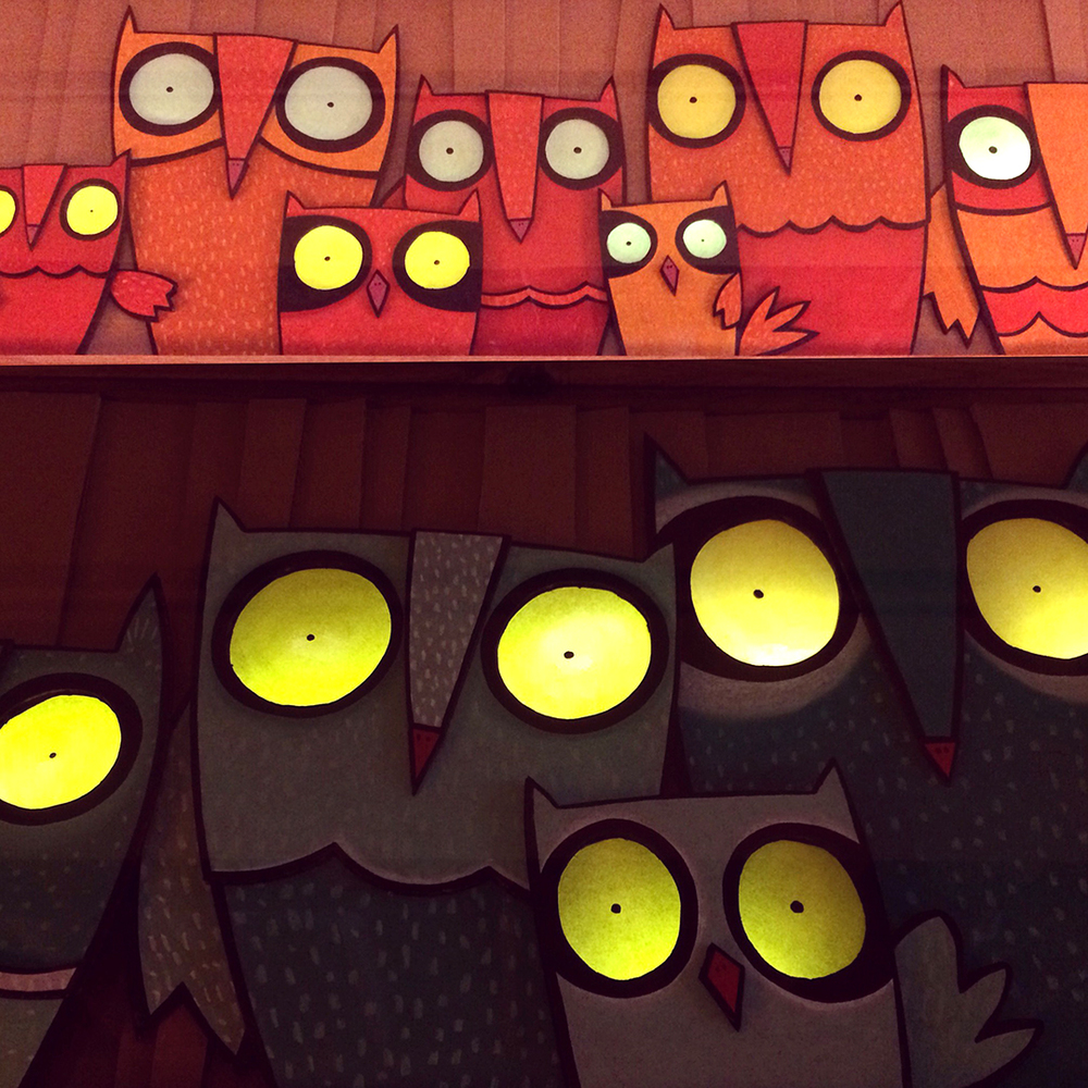 Owl Night Lights