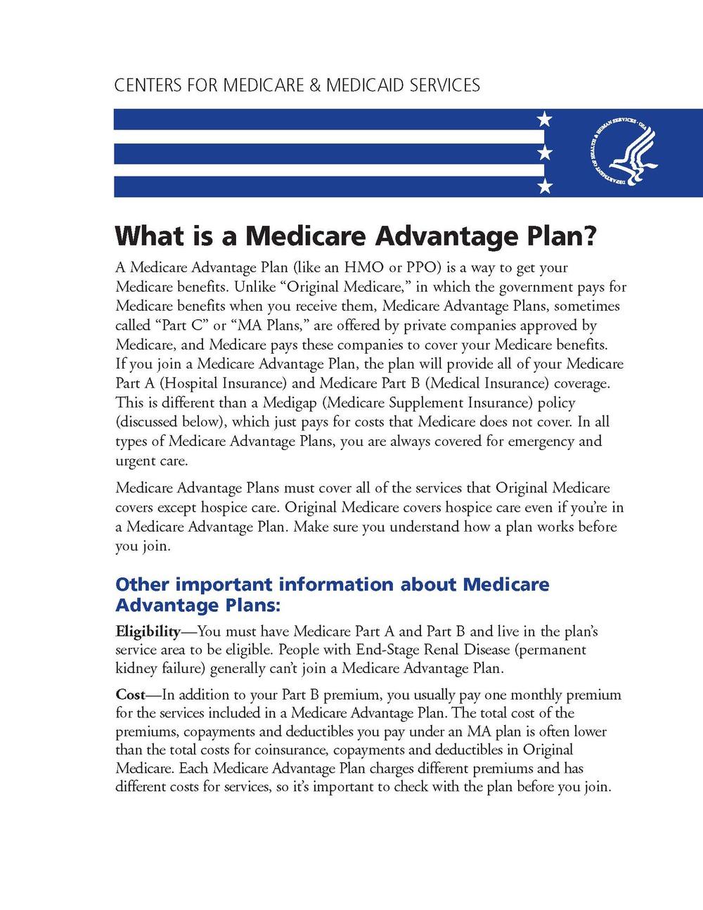 What is a Medicare Advantage Plan?