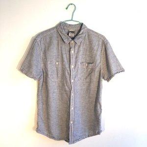 e9ea95a3 Hang Ten Blue and White Button Down Shirt