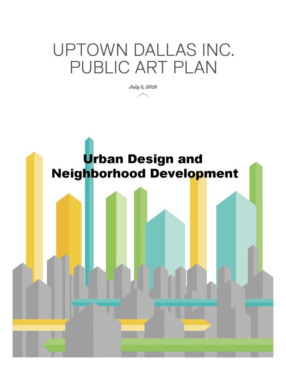 Urban Design and Neighborhood Development