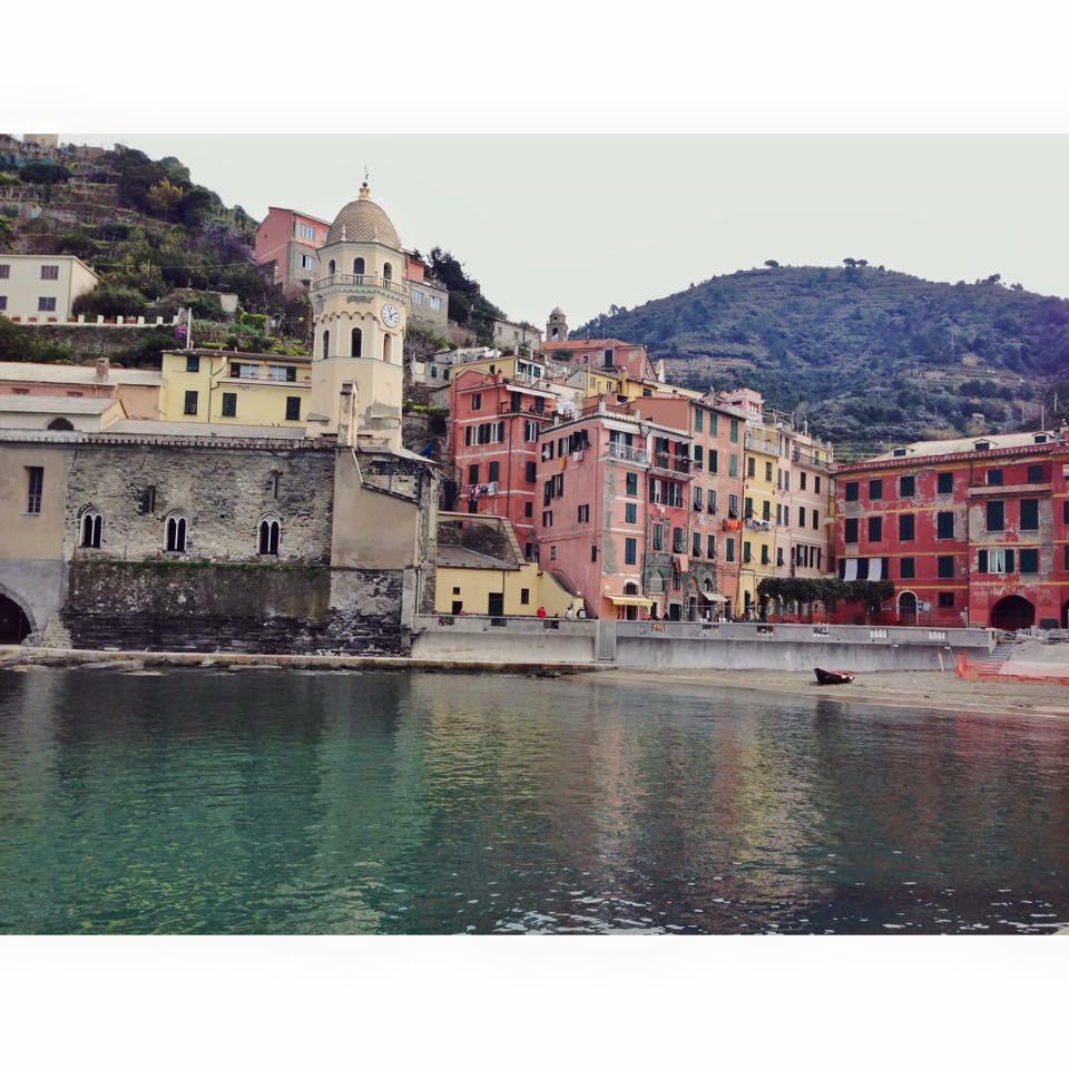 Cinque Terre, Italy. Beautiful.
