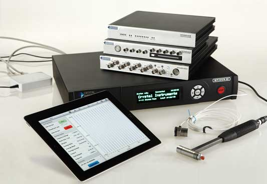 The iPad application version of EDM allows users to create a convenient, modular vibration testing system.