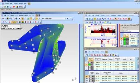 Modal analysis on strut parts