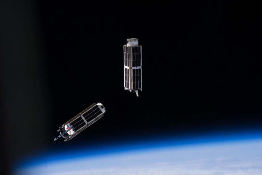 Planet Labs Dove CubeSats