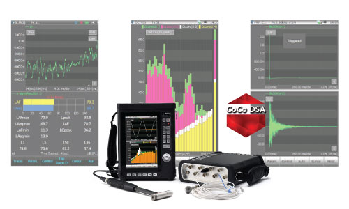 Handheld & WirelessDynamic Signal Analyzers - Rugged & Handheld Touchscreen Dynamic Signal Analyzers