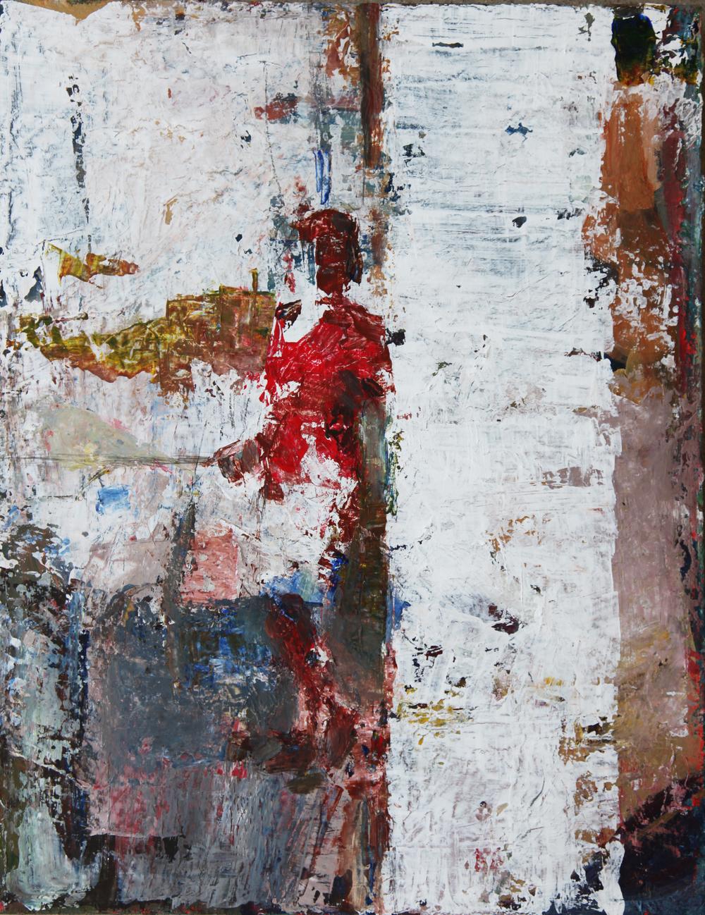 Doorway    Acrylic   16 x 24 in