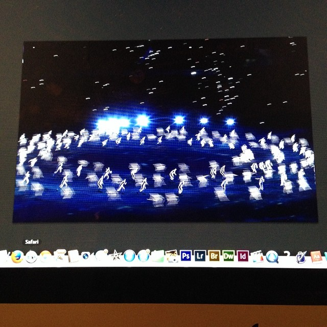 Love this photo of Sochi opening by photographer Mark Blinch/Reuters on my apple screen #Sochi #markblinch #screenshot  http://ift.tt/1l9Q0hg