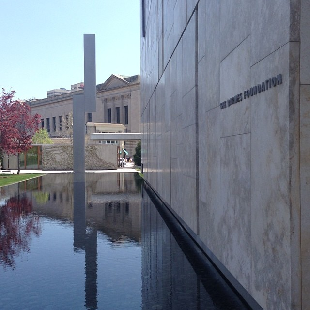Was ecstatic to see again the Barnes collection and the fantastic building but did not like the abrupt entrance into the first Matisse room nor the visible modern reading rooms amidst the old Barnes rooms. overall I much preferred the old Barnes which was a total experience. #thebarnesfoundation. (at The Barnes Foundation)