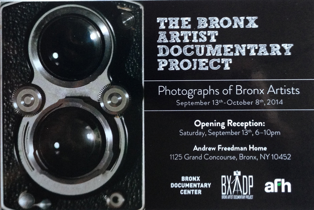 The Bronx Artist Documentary Project: Group Exhibition