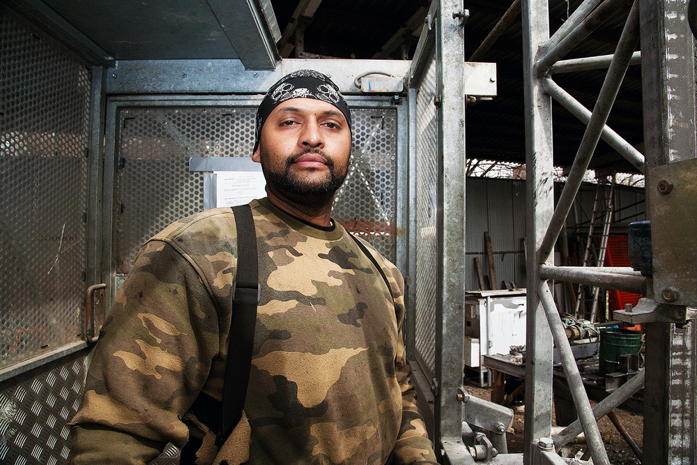 'HEART OF THE SOUTH BRONX: TRADES', photographed by Martine Foug