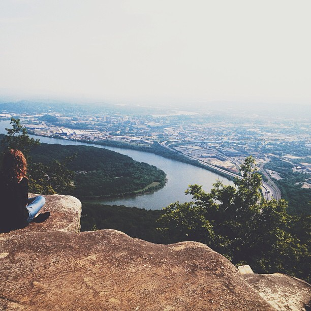 Lookout Mountain in Chattanooga. Taken on my last trip to Tennessee.