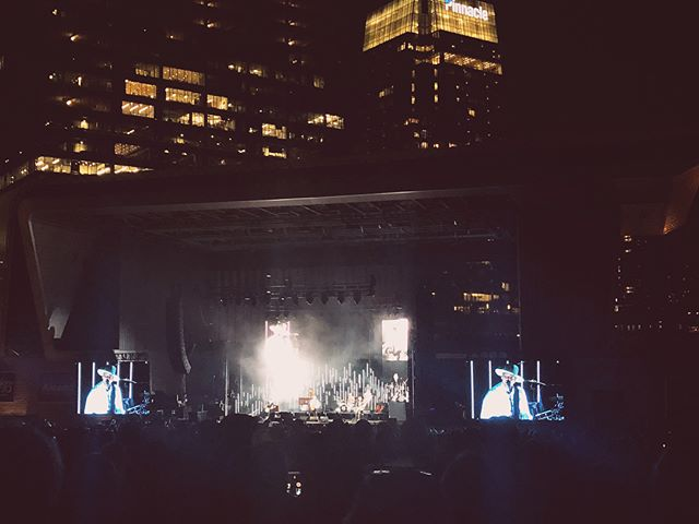 The perfect summer concert. Needtobreathe + Johnnyswim. Incredible night in downtown Nashville. 💗
