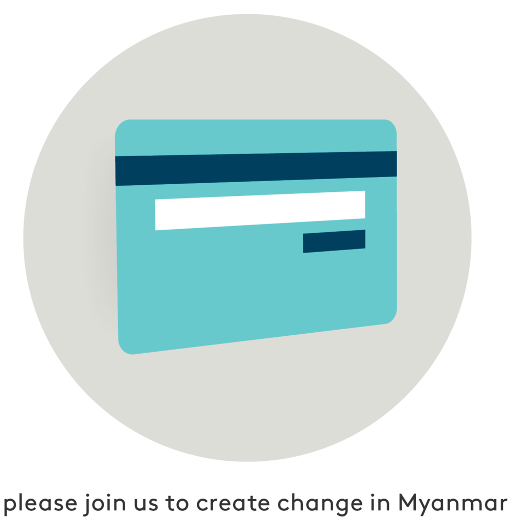 please join us to create change in Myanmar