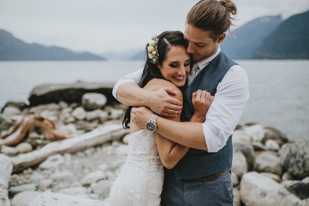 Denise + Callum - Furry Creek