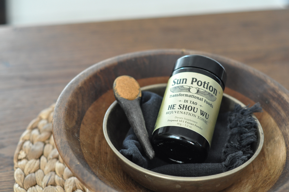 free-and-native-he shou wu Sun Potion