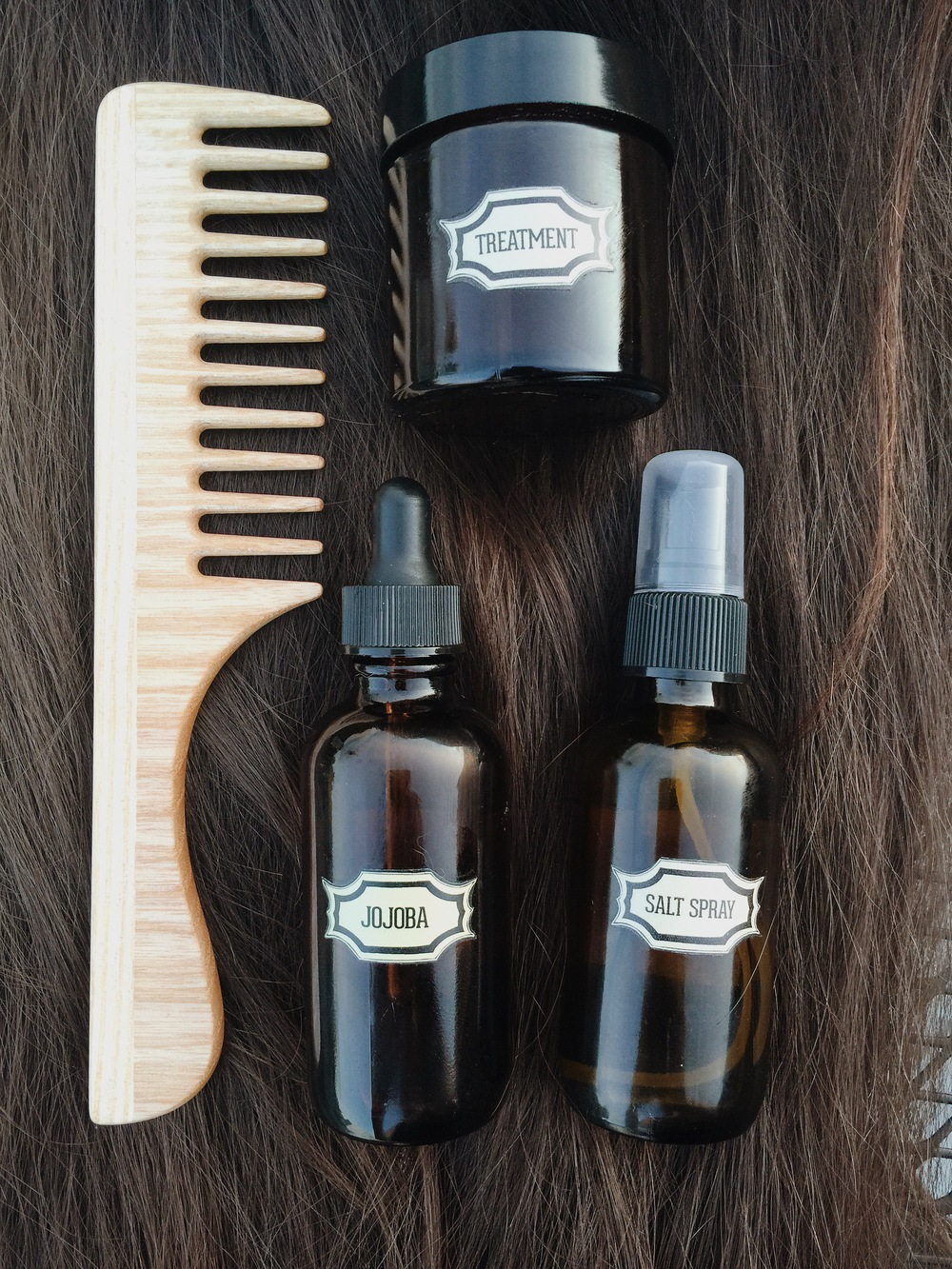 Beauty by Britanie Hair DIY Pure Products