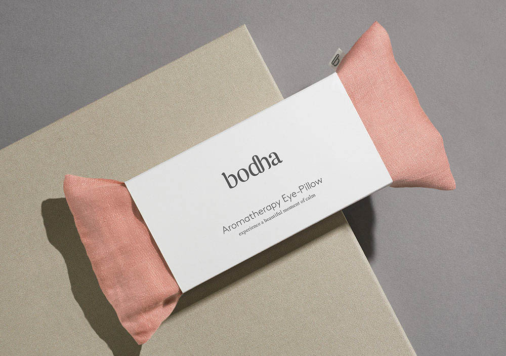 free-and-native-Bodha Pink Pillow