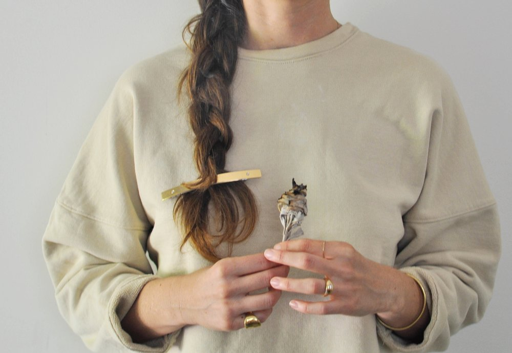 November_Sweater_Sage_Hairclip_pinkyring_bracelet_ring_braid 2 (1 of 1).jpg