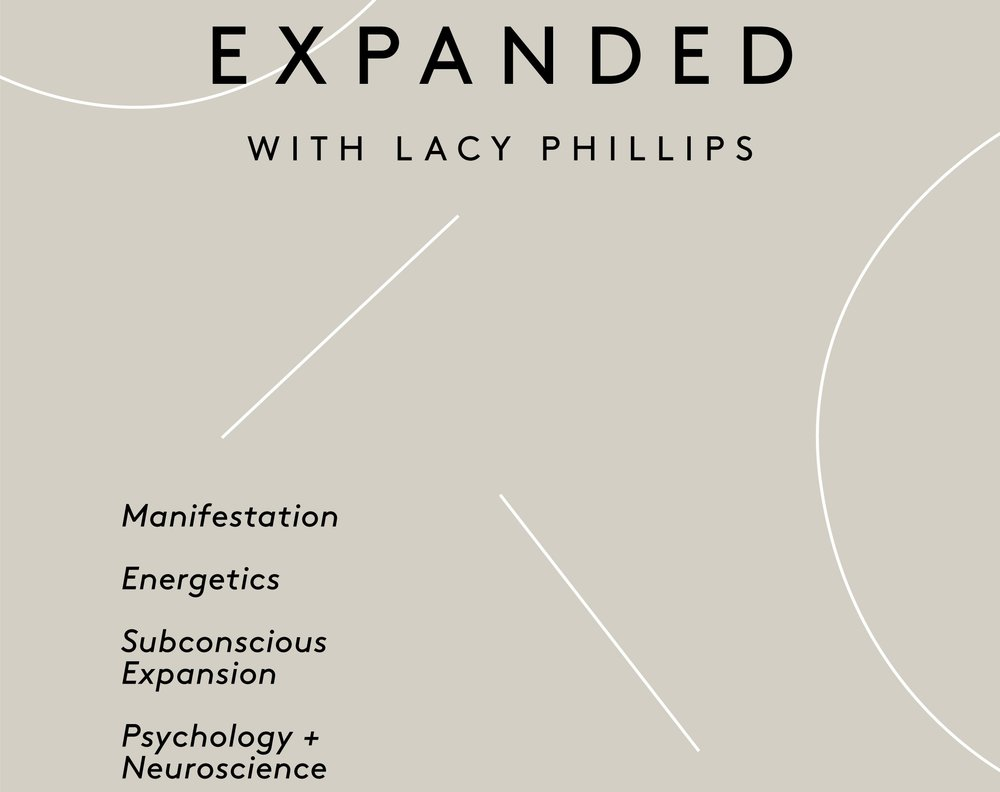 Listen to this episode and many more on The EXPANDED Podcast with Lacy Phillips -