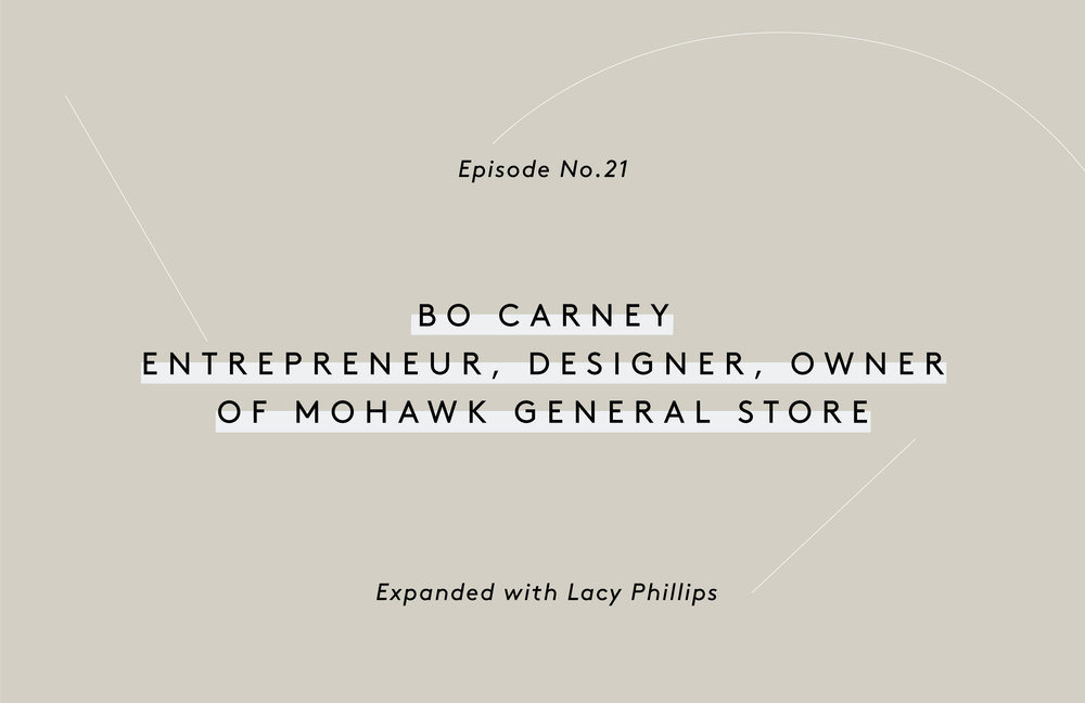 a8dbba367b6 Bo Carney the Founder of Mohawk General Store