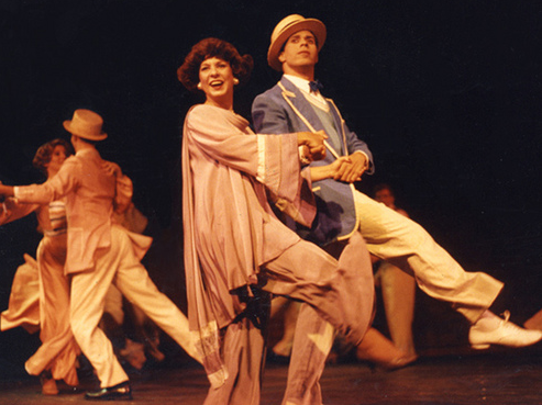 As Dorothy Brock in 42nd Street