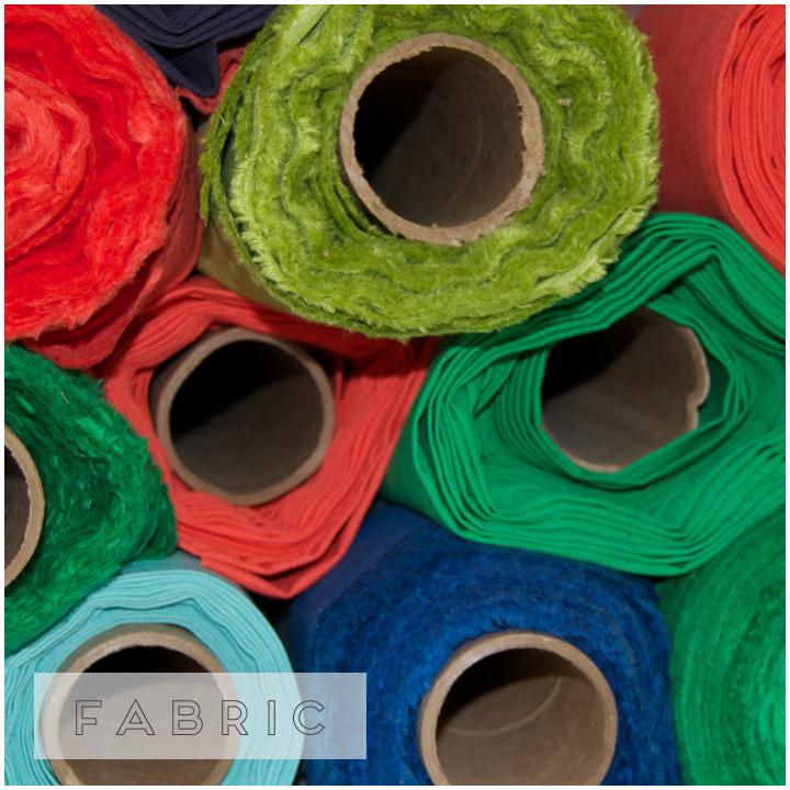 a sampling of fabric