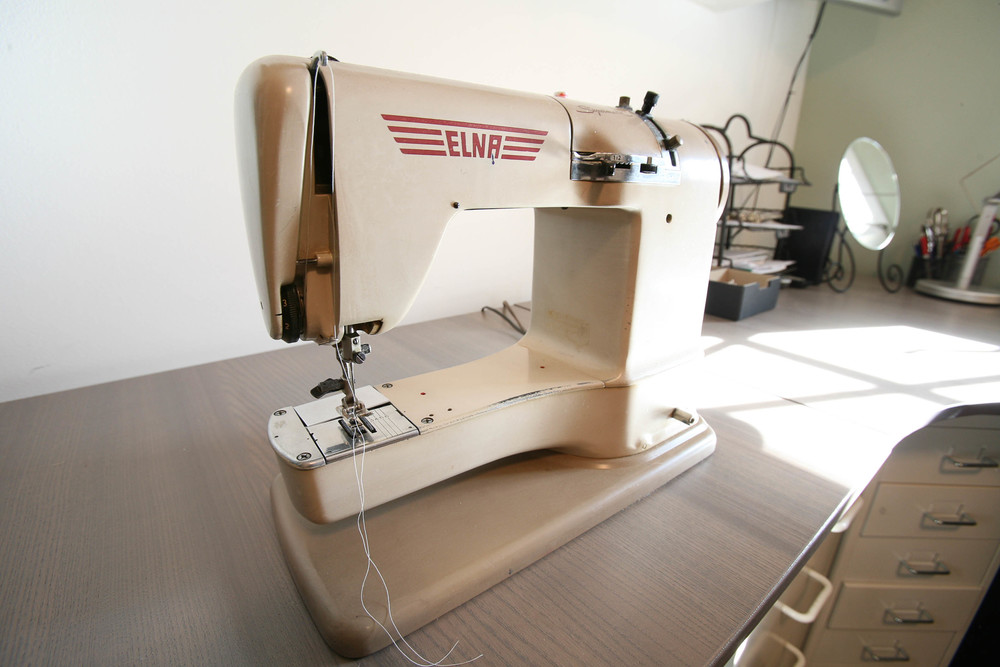 Elna sewing machine.